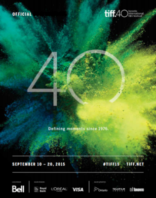 Toronto International Film Festival Poster, 2015
