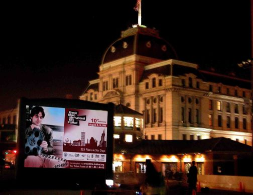 RIIFF Outdoor Screenings in Downtown Providence