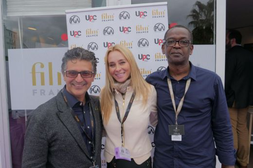 Kayvan Mashayekh (Co-Chair, International Committee PGA), Ms. Regina Di Santo (Private Financial Sponsor), Calvin Walker (Film F