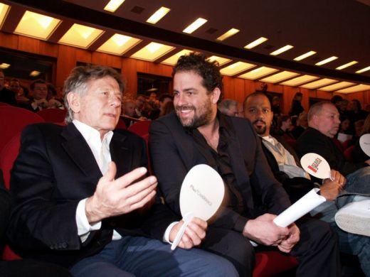Roman Polanski and Brett Ratner