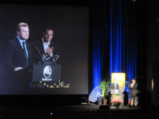 Leo and Chris at 2011 SBIFF