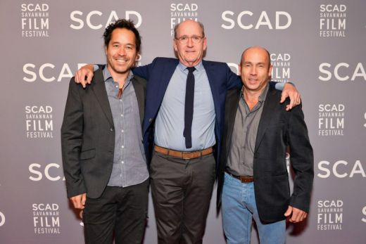 Production designer Paul D. Austerberry, actor Richard Jenkins and producer J. Miles Dale  during 20th Anniversary SCAD Savannah