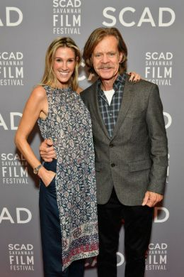 Producer Rachel Winter and director William H. Macy during 20th Anniversary SCAD Savannah Film Festival