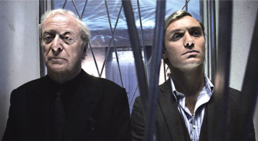 Michael Caine + Jude Law in SLEUTH