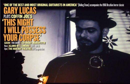 Gary Lucas Plays Coffin Joe poster
