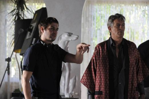 Eric Roberts and Christian Filippella