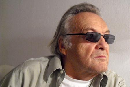 Film Director Jerzy Skolimowski, Warsaw, 2010. Photo: Robert Bodrog