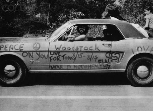 Spirit of the Sixties in Woodstock, New York