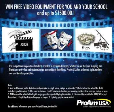 Win Prizes for You and Your School