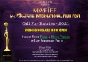 Anup Jalota Presents 4th MWFIFF 2021 - Call For Submissions Are Now Open