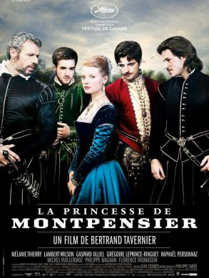 THE PRINCESS OF MONTPENSIER film poster
