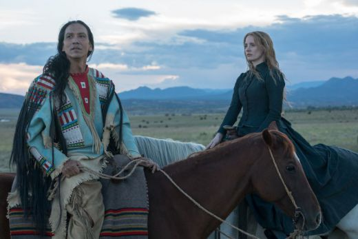 Academy Award nominee Jessica Chastain in Susanna White's Woman Walks Ahead from Black Bicycle Entertainment