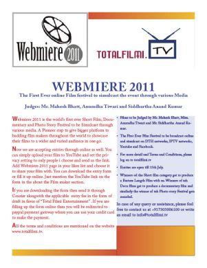 Webmiere 2011