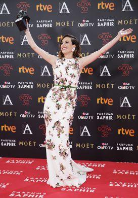 Natalia de Molina - Best Actress Goya 2016