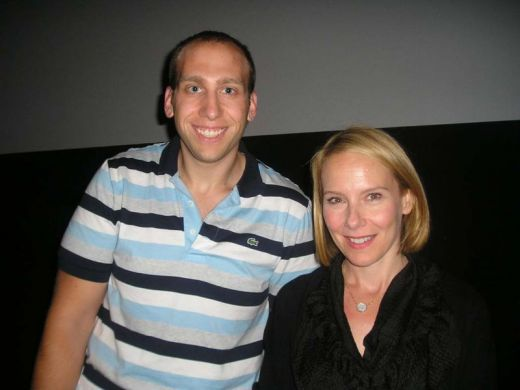 Andrew Greenblatt, Philadelphia Festival Director & Amy Ryan