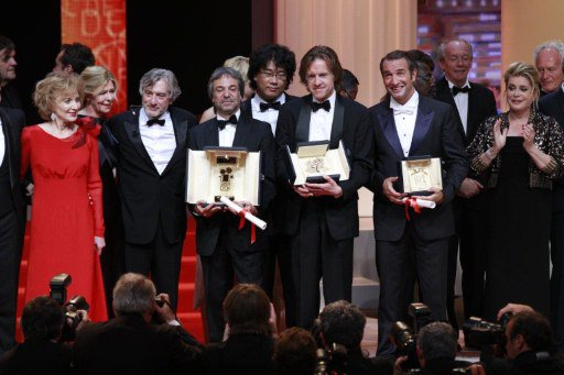 Awards winners Cannes 2011
