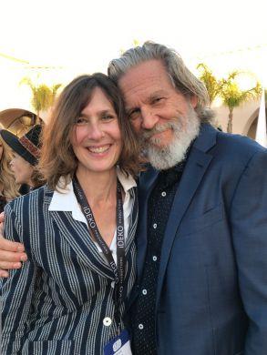 Susan Kucera the Director and Jeff Bridges