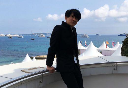 Filmmaker Brian Metcalf at 71st Cannes Film Festival