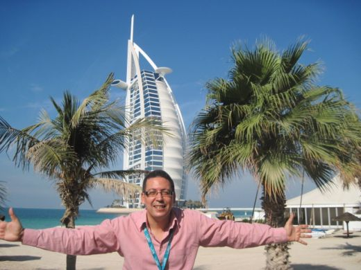 Director Nassim Abassi in Dubai