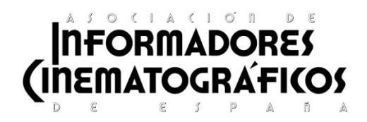 Asociación de Informadores Cinematográficos de España (AICE)