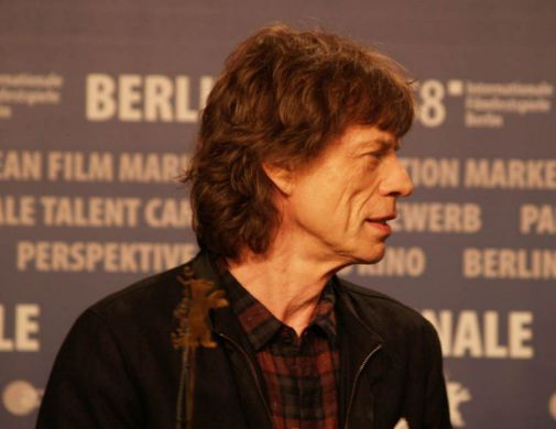Mick Jagger in Berlin
