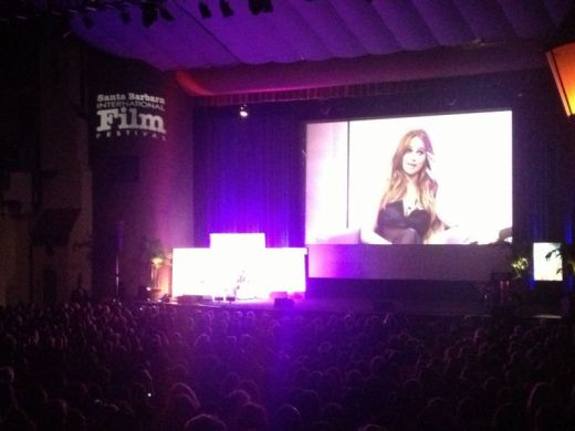 Jennifer lawrence receives Outsanding Performer of the Year Award, Santa Barbara Film Fest