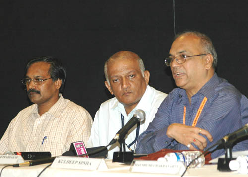 kuldeep sinha at press conference
