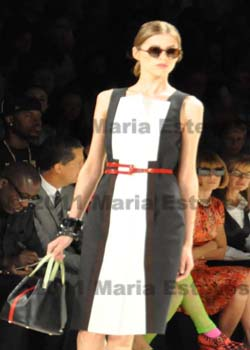 Mercedes-Benz Fashion Week New York CAROLINA HERRERA Spring 2012 Collection