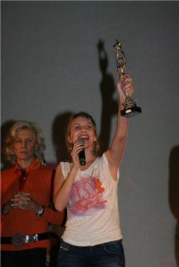 Mélanie Laurent au festival de Capri le 31 décembre 2008