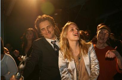 Mélanie Laurent et Lawrence Bender, le producteur de IB au festival de Capri le 31 décembre 2008