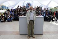 Mike Leigh presenting Another Year in Cannes