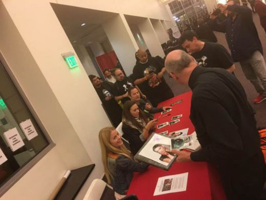 Cast signing at monsterpalooza
