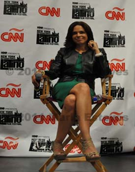 NYILFF 2011: CNN Presentation of In Her Corner: Latino In America with Soledad O'Brien