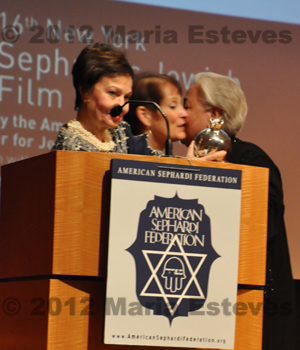 Izza Genini Recipient of Lifetime Achievement Pomegranate Award