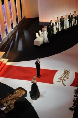 The opening ceremony Cannes 2011