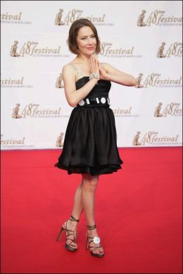 Agata Gotova at the Monte Carlo Television Festival