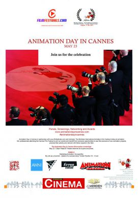 2017 Campaign for Animation Day in Cannes