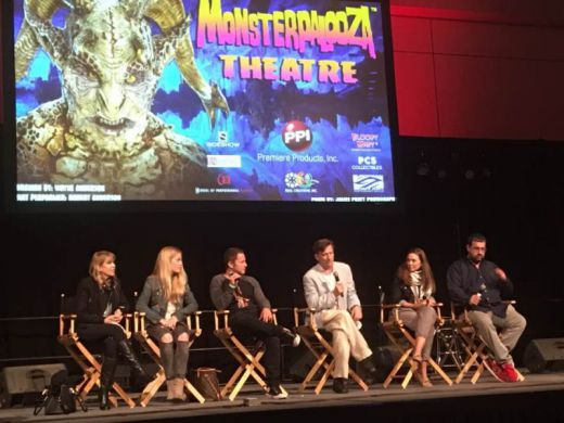 Q&A after screening at Monsterpalooza