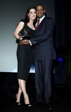 Sandra Bullock with Forrest Whitaker