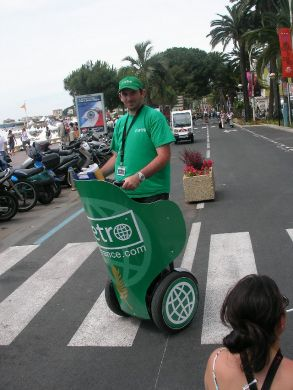 Segway in Cannes