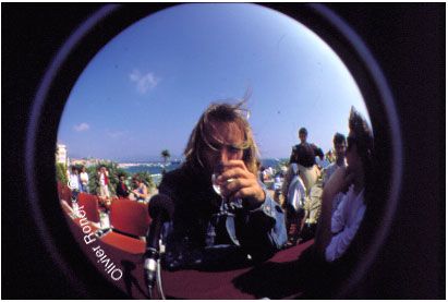 Sting in Cannes