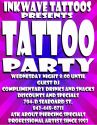 You are invited to tattoo party like its 1999 every Wednesday 8:00 PM - ?
