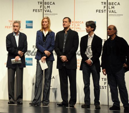 Press Conference Speakers Robert De Niro and Jane Rosenthal Officially Opens the 8th Tribeca Film Festival