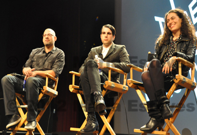 TFF 2012 Tribeca Talks New Filmmakers on Film Panel Coverage