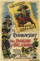 Dollins with Randolph Scott