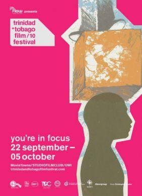 Poster for the trinidad+tobago film festival 2010