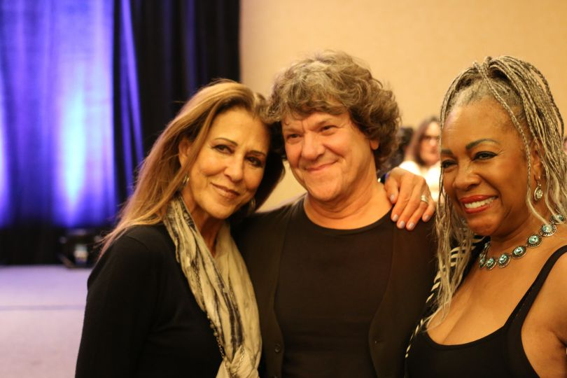 Michael Lang, Woodstock fest founder with Mary Wilson and