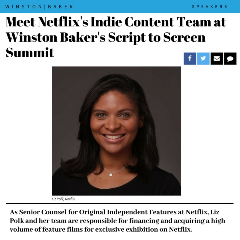 Learn how to get your project noticed by Netflix at Script to Screen