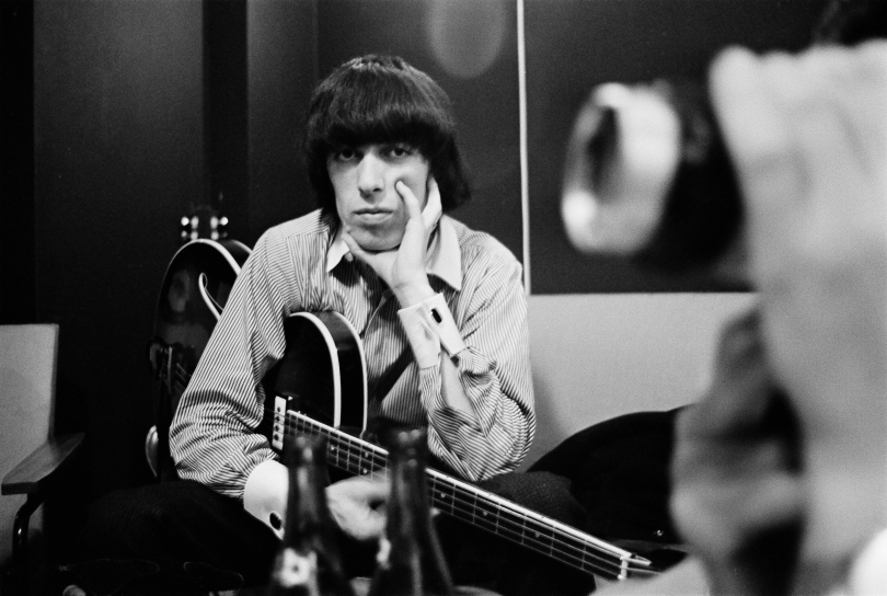 THE QUIET ONE image 1 Bill Wyman in the Studio. Photo credit Bent Rej. Courtesy of Sundance Selects.jpg