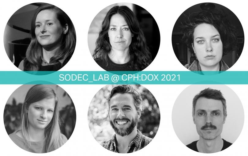 , SODEC_Lab @ CPH:DOX 2021 : Annonce des six producteurs participants